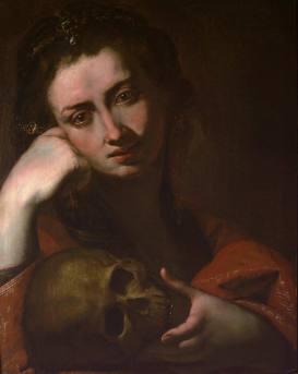 the-penitent-magdalen-vanitas Jusepe de Ribera